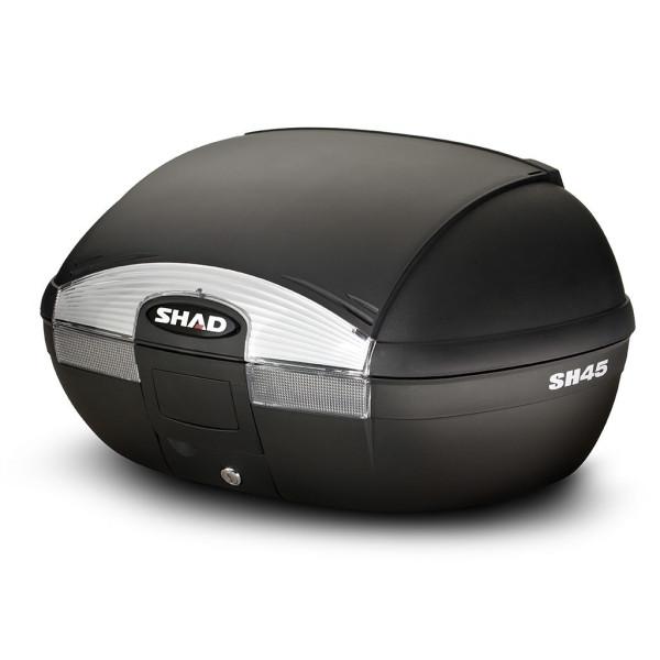 Topcase SHAD SH45 schwarz inklusive Trägerplatte