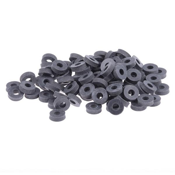 Unterlegscheibe 4x10x3mm Gummi 100er Set
