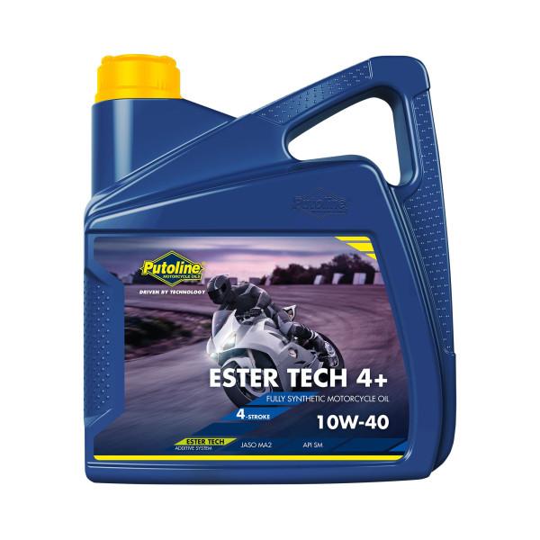 Öl 4Takt Putoline 10W40 4 Liter Motoröl Ester Tech Syntec4+ Road vollsynthetisch