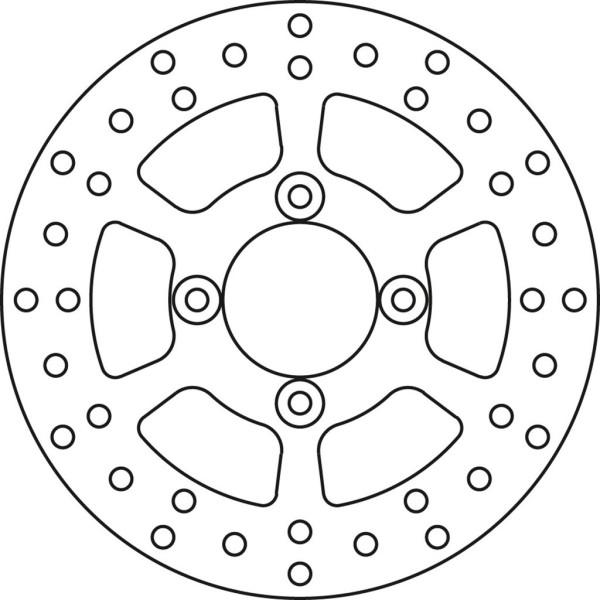 Bremsscheibe TRW MST259