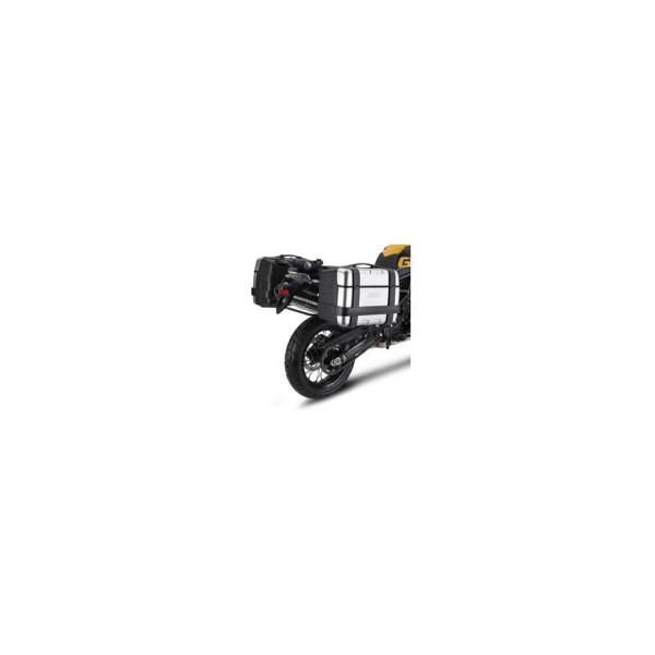 Rapid Seitenkoffer-Träger Stahlrohr für MONOKEY® Koffer - Stahlrohr schwarz