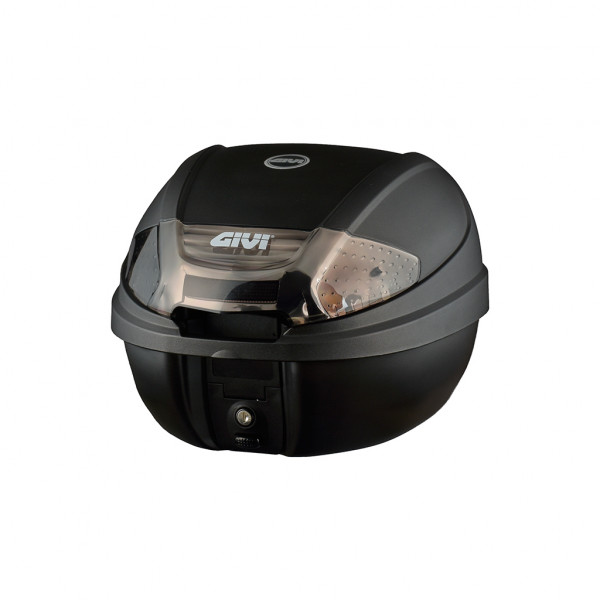 E300 Tech - Monolock Topcase  schwarz matt