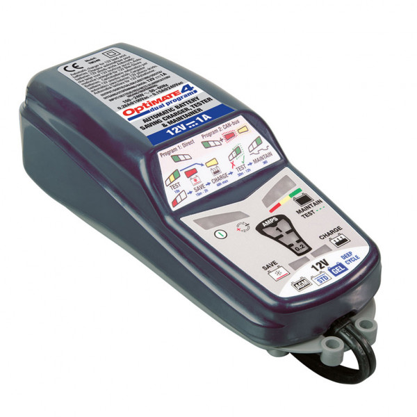 Batterieladegerät Optimate 4 Dual 12 Volt 1,0 Amp. CAN-Bus fähig