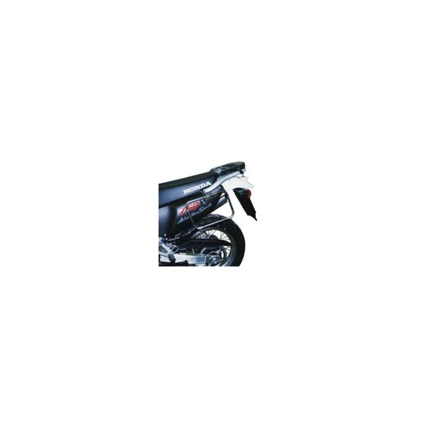 Seitenkoffer-Träger Stahlrohr schwarz für Honda XRV Africa Twin 750 Bj. 96-04