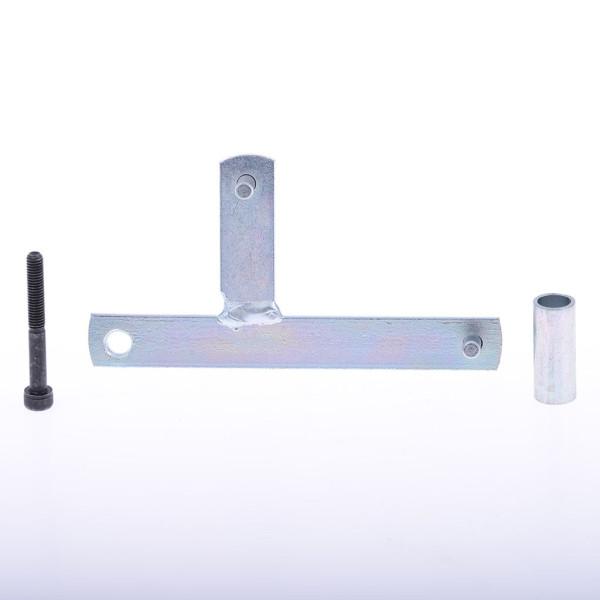 Riemenscheibenhalteplatte Buzzetti Vespa Primavera 125 4T Lochabstand 120 mm